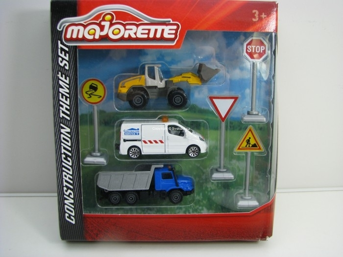 Majorette Construction Theme set